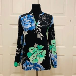 NWOT Rafaela Long Sleeve Floral Shirt Small